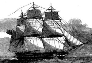 Victoria sailing vessel