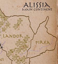 pristine world map